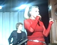Blondie video: Toe to toe, dancing very close